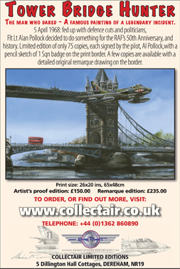 Tower Bridge Hunter Ad